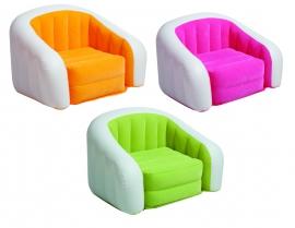 Крісло надувн. 68571NP 3 кольори, (6+років) у кор. 97*76*69см