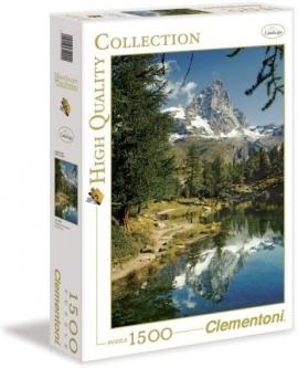 """Іграшка  пазли ТМ""""Clementoni"""" арт. 31990 Озеро Маттерхорн 1500 ел."""