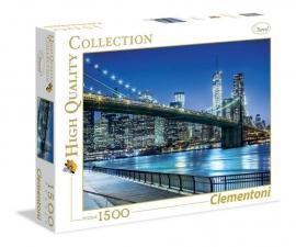 """Іграшка  пазли ТМ""""Clementoni"""" арт.31804 Нью Йорк 1500 ел."""