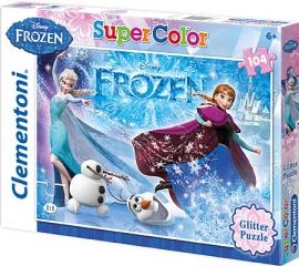 "Іграшка пазли ТМ""Clementoni"" арт. 29712 Frozen Glitter 104 ел."