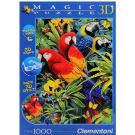 "Іграшка пазли ТМ""Clementoni"" арт.39188 Папуга 3D 1000 ел."