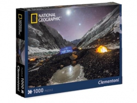 "Іграшка пазли ТМ""Clementoni"" арт.39310 National Geographic Кемпінг на Евересті 1000 ел."