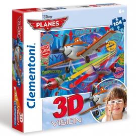 """Іграшка пазли ТМ """"Clementoni"""" арт.20085 Літачки 104 ел. 3D"""