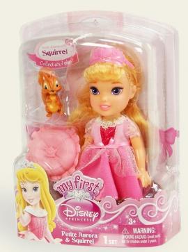 Іграшка лялька Disney Аврора арт.86862 (75816), блістер 7*14*19см