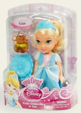 Іграшка лялька Disney Попелюшка арт.75491/6, блістер 7*14*19см