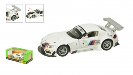 """Іграшка машина метал  BMW Z4 GT3 арт.68260A """"АВТОПРОМ"""" батар.,світло,звук в кор. 24,5*12,5 см"""
