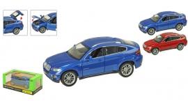 """Іграшка машина метал BMW X6 арт.68250A """"АВТОПРОМ"""" батар.,світло,звук в кор. 24,5*12,5"""