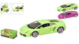 """Іграшка машина метал Lamborghini Gallardo арт. 68253A """"АВТОПРОМ"""" батар.,світло,звук кор. 24,5*12,5"""