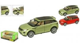 "Іграшка машина метал Range Rover Evoque арт.68244A ""АВТОПРОМ"" батар.,світло,звук в кор. 24,5*12,5"
