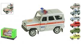 Іграшка машина метал Уаз Хантер. Артикул: 6401ABCDEF