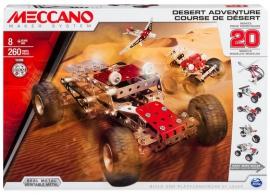 Іграшка конструктор Meccano. Гонки в Пустелі. Артикул: 6026306