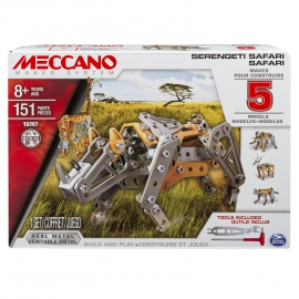 Іграшка конструктор Meccano. Сафарі. Артикул: 6026716