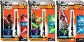 Іграшка ліхтарик Зоряні війни арт. 39325 (39326) на бат. на планшетці 14,5*22*3