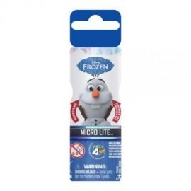 Іграшка ліхтарик  Frozen Олаф арт. 40527 на бат. у дісплеї 12 шт., 16,5*12,5*4  см