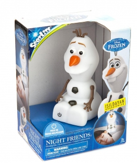 Іграшка нічник  Frozen Олаф арт. 40450 на бат. в коробці 11,4*15,1*8,8 см