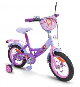 Велосипед 2-х колес 16'' SP1601 Cофія з дзвоником,дзеркалом