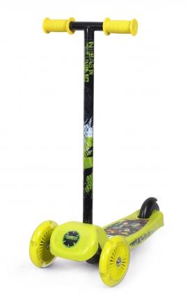 Самокат Країна Іграшок Ninja Turtles Арт.:SD0117 (3- х колесн.)