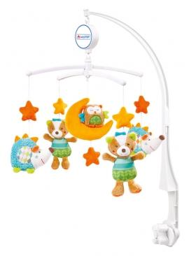 Музыкальный мобиль Baby Fehn Спящий лес Арт.: 071214 (6 шт)