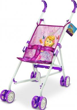 Коляска для кукол Disney Sofia Арт.: D1001S (металл, летняя, 8 колес, 53*25*47см)