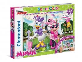 Іграшка Clementoni/Supercolor Minnie арт.: 20701  34,3*24,3*3,5 см (104 ел., моб приложение)