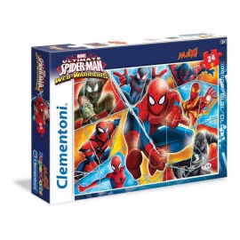 Пазлы Clementoni/Color Maxi Spiderman  арт.: 24053 (24 эл.)