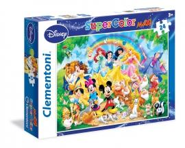 Пазлы Clementoni/Disney family арт.: 24473 (24 эл., Color Maxi)