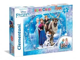 Пазлы Clementoni/Frozen  арт.: 25447 (40 эл., напольный)