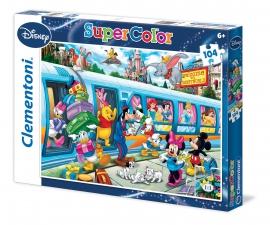 Пазлы Clementoni/Disney Train  арт.: 27884 (104 эл.)