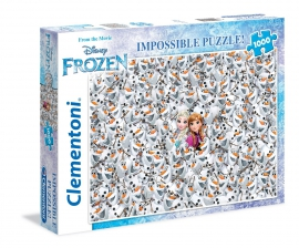 Пазлы Clementoni/Frozen арт.: 39360 (impossible, 1000 эл.)