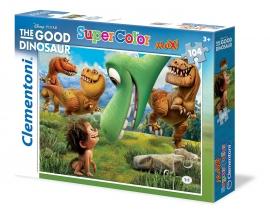 Пазлы Clementoni/Добрый динозавр арт.: 23698 (104 эл. maxi)