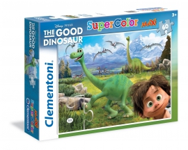 Пазлы Clementoni/Добрий динозавр арт.: 26799 (60 эл., maxi)