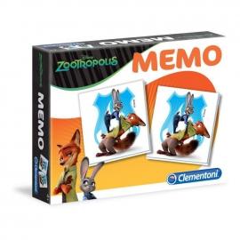 Мемо Clementoni/Зверополис арт.: 13389 (28 карточек)