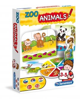 Игра 3в1 Clementoni животные арт.: 60404