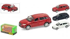 """Іграшка машина метал Audi Q7 1:43  арт 67305 """"АВТОПРОМ"""",відкр дв,в кор. 14,2*7,2*6,5см"""