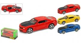 """Іграшка машина метал Chevrolet Camaro 1:43 арт 67326 """"АВТОПРОМ"""",відкр дв,в кор. 14,2*7,2*6,5см"""