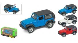 """Іграшка машина метал Jeep Wrangler 1:43 67325  """"АВТОПРОМ"""",відкр дв,в кор. 14,2*7,2*6,5см"""