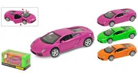 """Іграшка машина метал Lamborghini 1:43 арт 67324 """"АВТОПРОМ"""",відкр дв,в кор. 14,2*7,2*6,5см"""