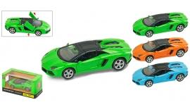 """Іграшка машина метал Lamborghini Aventador 1:43 арт 67323 """"АВТОПРОМ"""",відкр дв,в кор. 14,2*7,2*6,5см"""