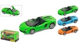 """Іграшка машина метал Lamborgini Aventador 1:43 арт 67320  """"АВТОПРОМ"""",відкр дв,в кор.14,2*7,2*6,5см"""