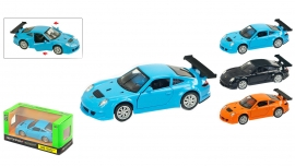 """Іграшка машина метал Porsche 911 GT3  1:39 арт 67304 """"АВТОПРОМ"""",відкр дв,в кор. 14,2*7,2*6,5см"""