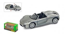 "Іграшка машина метал Porsche 918 Spider 1:41 арт 67317  ""АВТОПРОМ"",відкр дв,в кор. 14,2*7,2*6,5см"