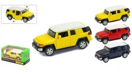 """Іграшка машина метал Toyota Cruiser 1:43 арт 67312  """"АВТОПРОМ"""",відкр дв,в кор. 14,2*7,2*6,5см"""