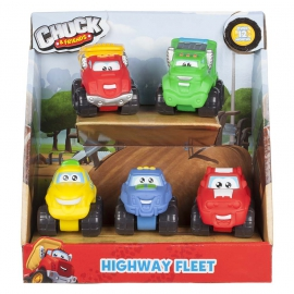 Набор машинок Chuck & Friends_Jazwares_арт.: 92745(92754)