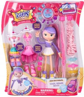 Кукла-конструктор Moose Betty Spaghetti Школьница арт 59001