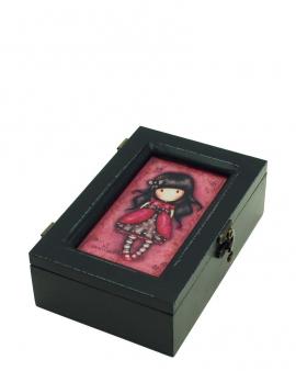 Деревянная шкатулка Santoro Gorjuss Ladybird    Арт. 520GJ01