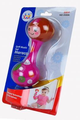 Іграшка арт 3102A Брязкальце 12,5*21,5*4,5см на планшетці