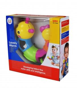 Іграшка розвиваюча арт 786B Гусениця  18*18*6 см  в коробці