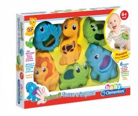 Интерактивная игрушка Clementoni Животные Арт. 17036 в коробке