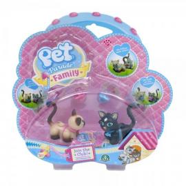 Игровой набор сиамский и ангорский котята Pet Parade арт. PTF05000/UA/1