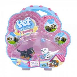 Игровой набор щенков далматинец и ротвейлер Pet Parade арт. PTF05000/UA/5